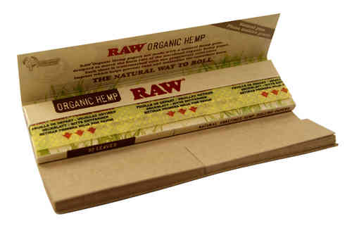 RAW Organic Connoisseur 1 1/4 Papers + Tips