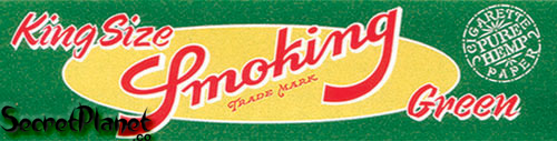 Smoking Green KS Blättchen