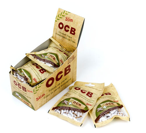 OCB Slim Filter Eco +GRATIS Blättchen