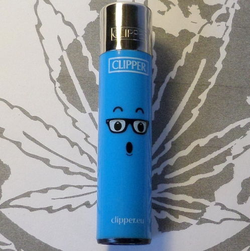 Clipper Emoticons (Blau)