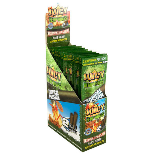 Juicy Jays Hemp Wraps - Tropical Passion