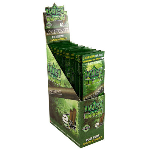 Juicy Jays Hemp Wraps - Natural