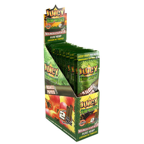 Juicy Jays Hemp Wraps - Mango Papaya