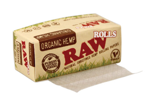 RAW Organic Roll Blättchen | Natural Unrefined Hemp Rolling Papers
