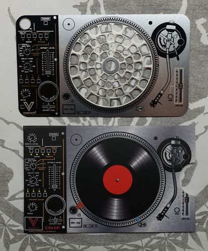 "Grinder Card ""Turntable"""