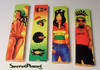 Rasta Reggae KS Slim Papers + Tips