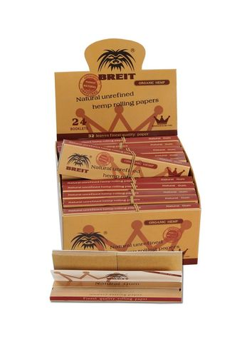 BREIT Rolling Papers Hemp KS Slim
