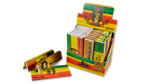 Ziggi Retropack Rasta Mix KSS + Tips
