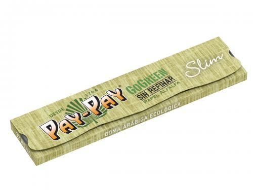 PayPay GoGreen Alfalfa KS Slim Grüne Rolling Papers