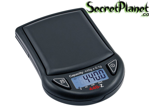 MyWeigh 440Z Scale Black