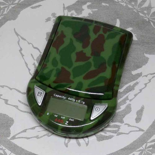 MyWeigh 440Z Scale Camo