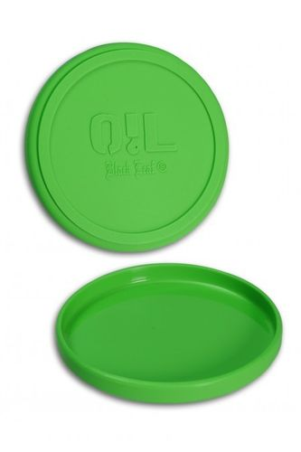 Silly Tray Round Silicone Tray (Green/Ø=120mm)