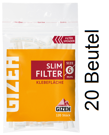 Gizeh Slim Filter BOX (20 Packungen)