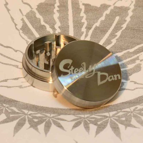Steely Dan Stainless Steel Grinder D=39mm 2p