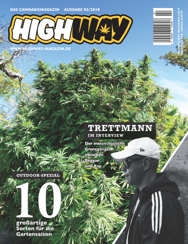HIGHWAY Cannabismagazin Ausgabe: März/April 02/2018
