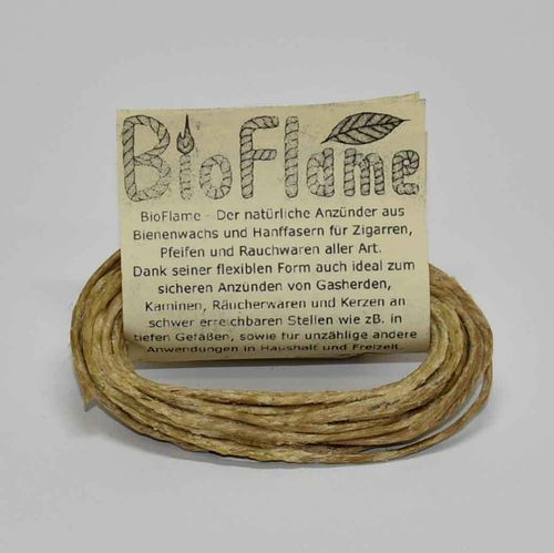 BioFlame Hemp Wick Made in Germany 4,20m