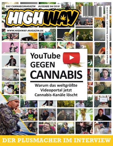 HIGHWAY Cannabismagazin Ausgabe:  Juli/August 04/2018