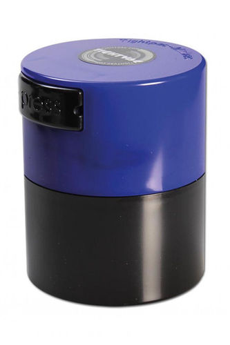 Vacuum Container black with blue top (0,12Liter)
