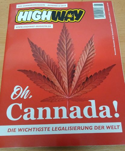 HIGHWAY Cannabismagazin Ausgabe: Nov/Dez 06/2018