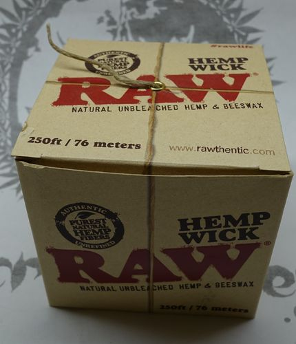 RAW Hemp Wick 76m/250ft