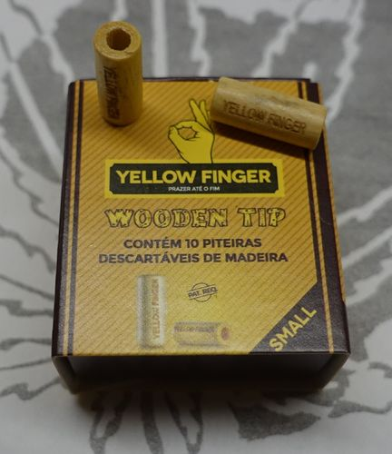 Wooden Tip Yellow Finger
